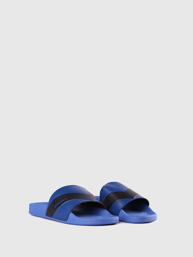 Diesel - SA-MARAL, Blue - Slippers - Image 2