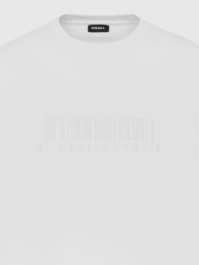 Diesel - T-JUST-SLITS-X87, White - T-Shirts - Image 3