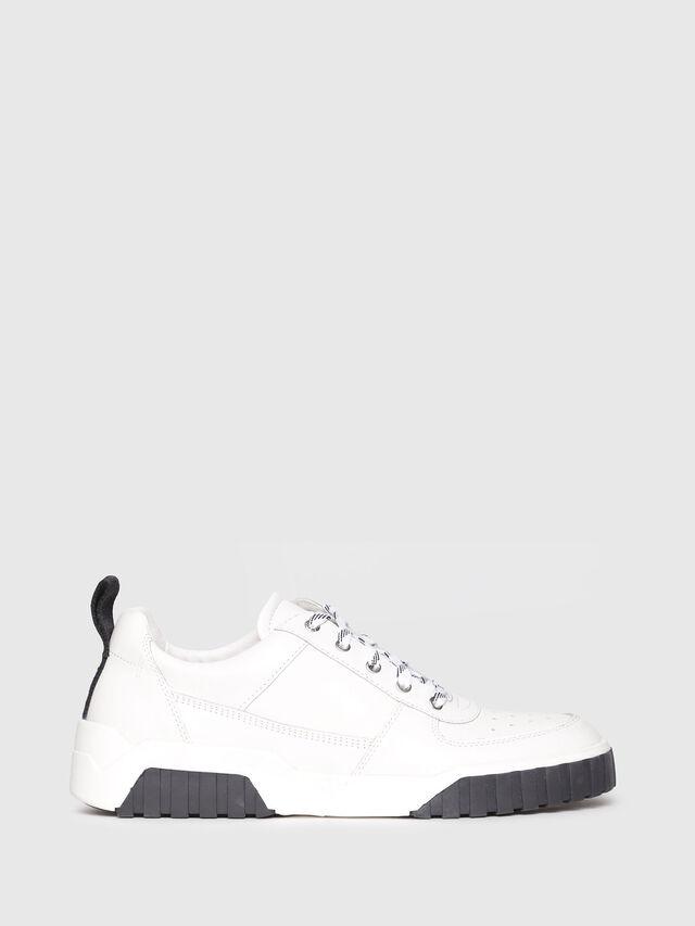 Diesel - S-RUA LC, White - Sneakers - Image 1