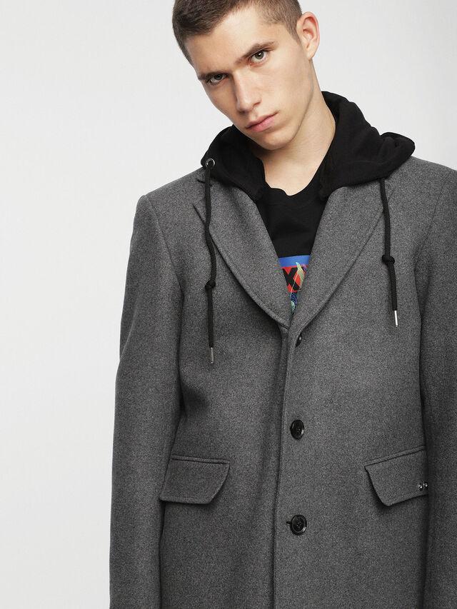 Diesel - W-DEXTER, Grey - Winter Jackets - Image 1