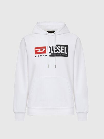 Diesel - S-GIRK-HOOD-CUTY, White - Sweaters - Image 1