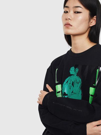 Diesel - S-BIAY-S1, Black - Sweaters - Image 6