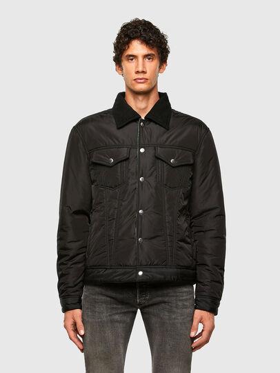 Diesel - W-JORGE, Black - Winter Jackets - Image 1