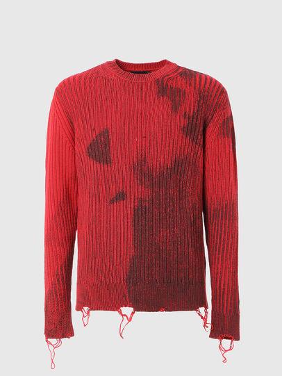 Diesel - K-GANDERT, Red - Knitwear - Image 1