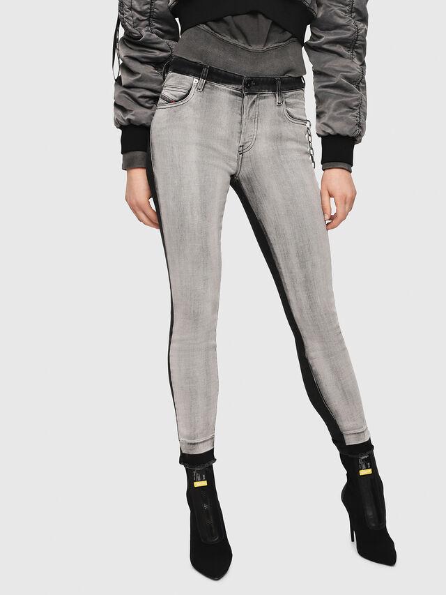 Diesel - Babhila 081AG, Black/Dark grey - Jeans - Image 1