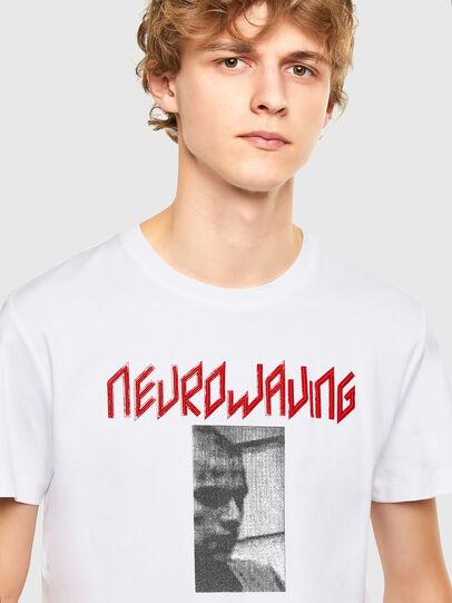 Diesel - T-IEGO, White - T-Shirts - Image 3