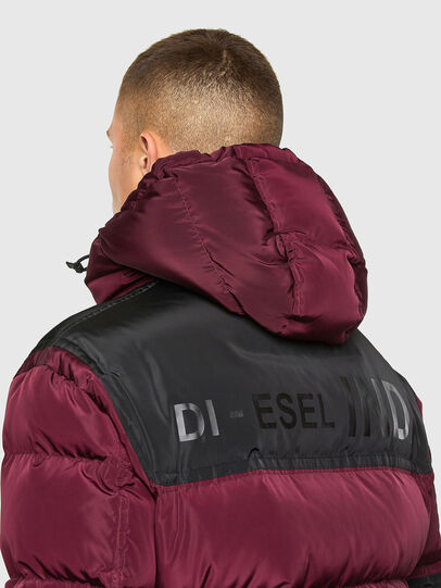 Diesel - W-RUSSELL, Violet - Winter Jackets - Image 4
