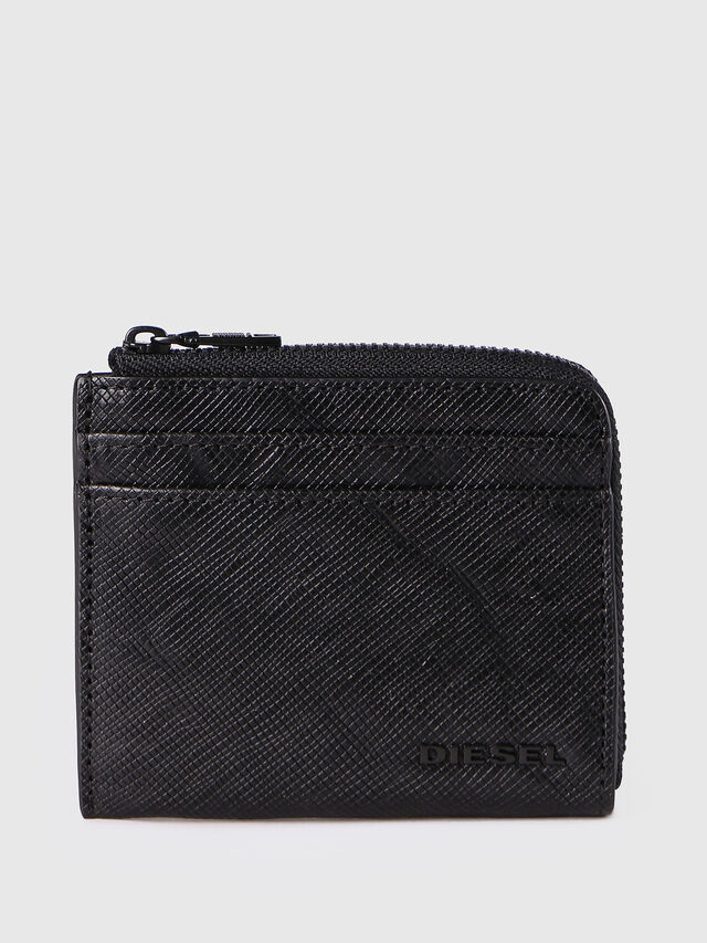 Diesel PASS ME, Black - Continental Wallets - Image 1