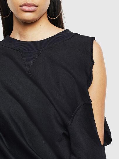 Diesel - F-INVERT, Black - Sweaters - Image 5