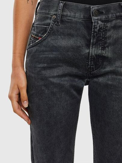Diesel - Krailey JoggJeans 069QB, Black/Dark grey - Jeans - Image 3