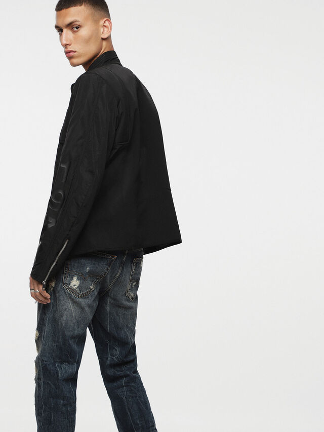 Diesel - J-MEXIC, Opaque Black - Jackets - Image 2