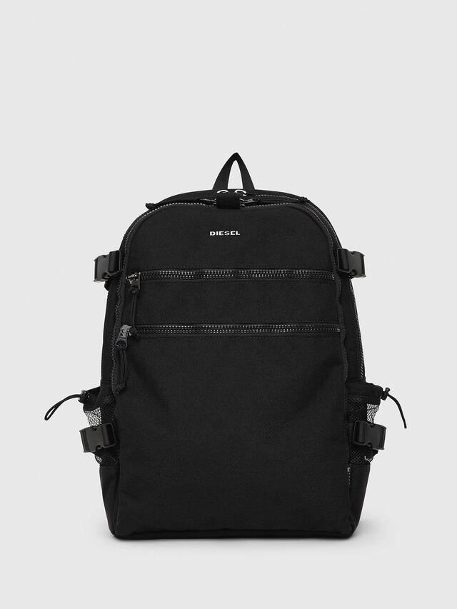 Diesel - F- URBHANITY BACK, Black - Backpacks - Image 1