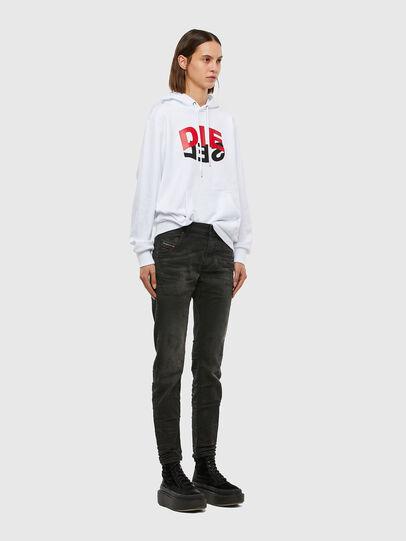 Diesel - Krailey JoggJeans 069QL, Black/Dark grey - Jeans - Image 6