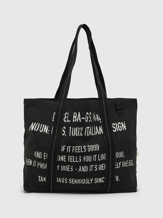 D-THISBAG SHOP M, Black - Shopping and Shoulder Bags
