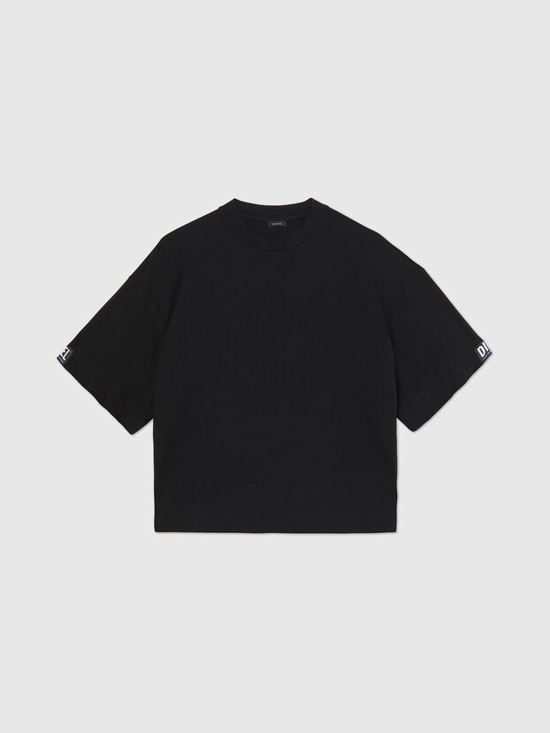 UFTEE-SHORTEE, Black - T-Shirts
