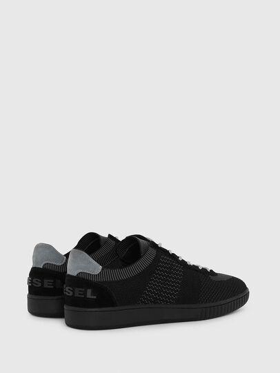 Diesel - S-MILLENIUM LOW, Black/Grey - Sneakers - Image 3