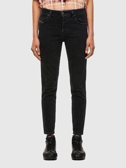 Diesel - Babhila 0870G, Black/Dark grey - Jeans - Image 1