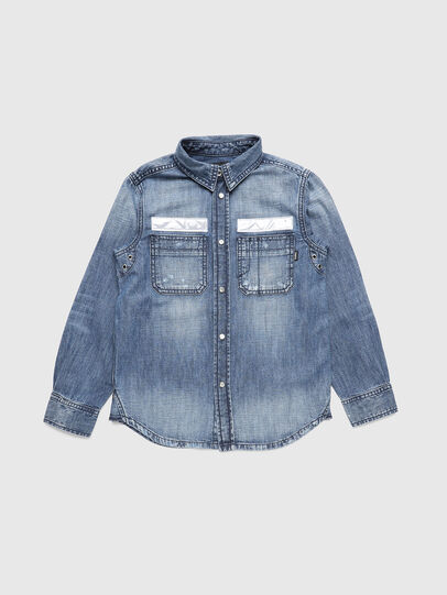 Diesel - CFRED, Medium blue - Shirts - Image 1