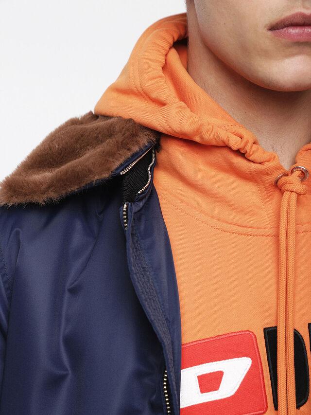 Diesel - W-SLOTKIN, Blue - Winter Jackets - Image 3
