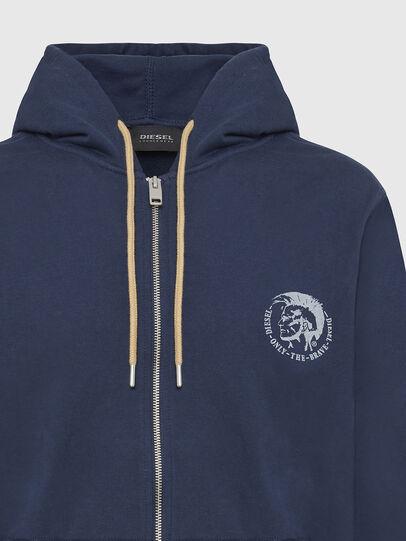 Diesel - UMLT-BRANDON-Z, Blue Marine - Sweaters - Image 3