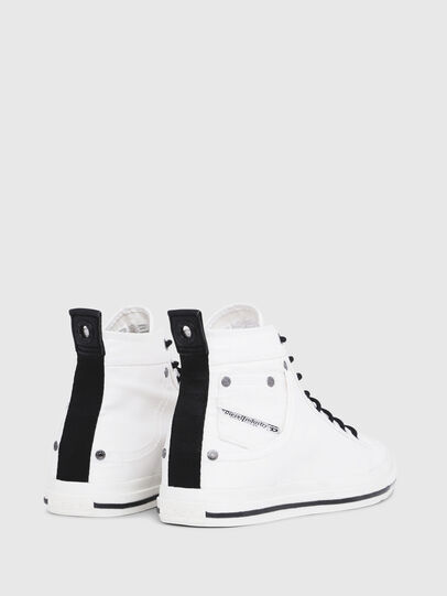 Diesel - EXPOSURE I, White/Black - Sneakers - Image 3