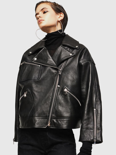 Diesel - LJESIV,  - Leather jackets - Image 4