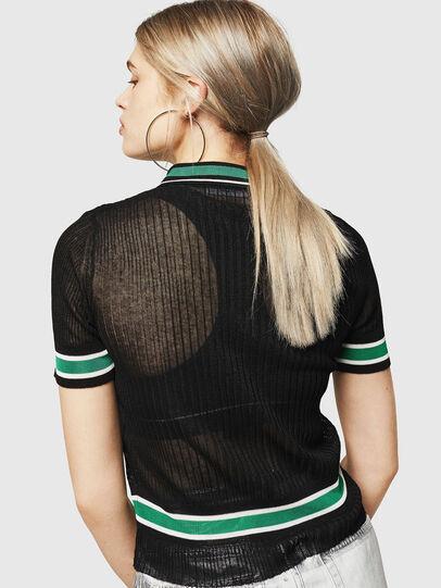 Diesel - M-FRES, Black - Knitwear - Image 2