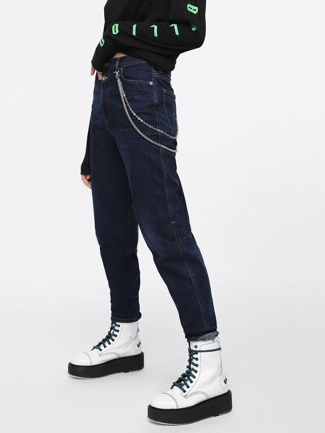 Diesel - Alys 084ZC, Dark Blue - Jeans - Image 1