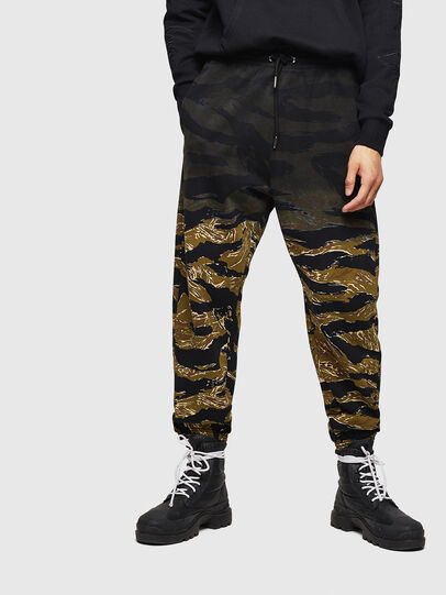 Diesel - P-FREI-TIGERCAM, Military Green - Pants - Image 1