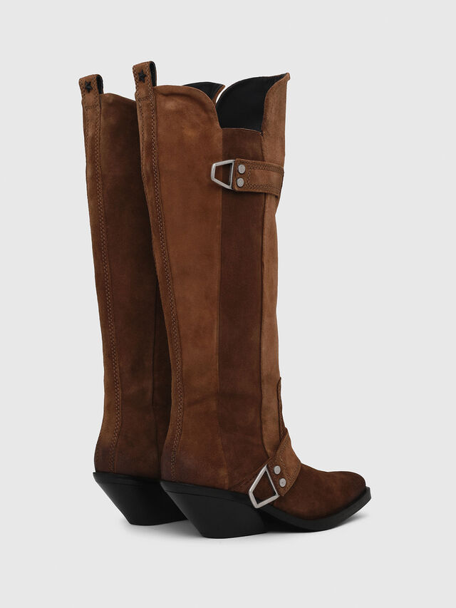 Diesel - D-GIUDECCA MB, Brown - Boots - Image 3