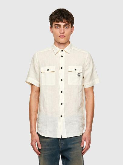 Diesel - S-KIRU, White - Shirts - Image 1