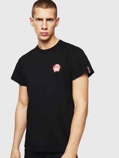 Diesel - LR-T-DIEGO-VIC, Black - T-Shirts - Image 1