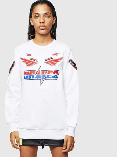Diesel - ASTARS-F-GIR-A-FL, White - Sweaters - Image 1