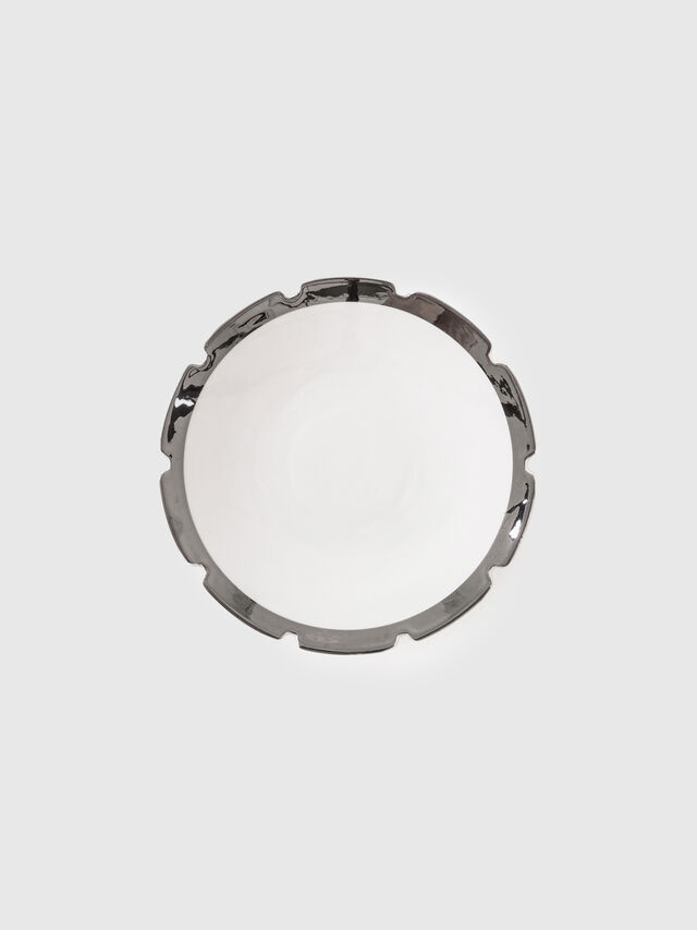 Living 10985SIL MACHINE, White - Plates - Image 1