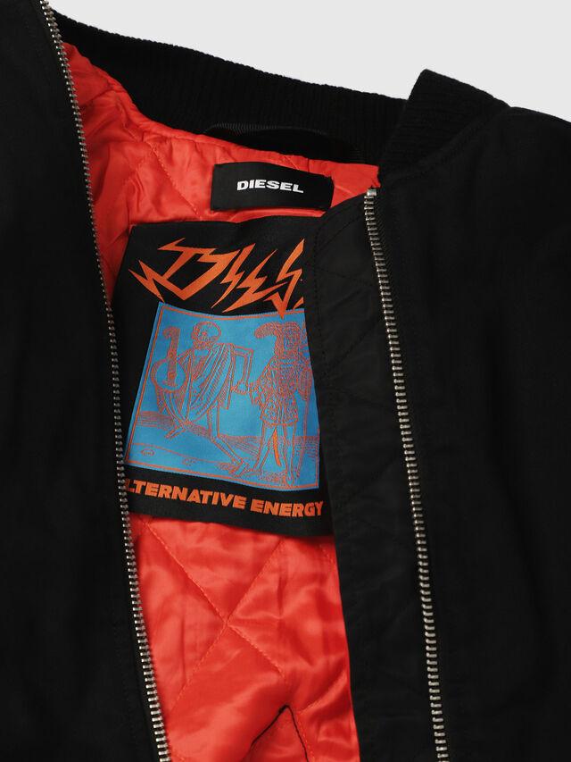 Diesel - W-ZALIA, Black - Winter Jackets - Image 5