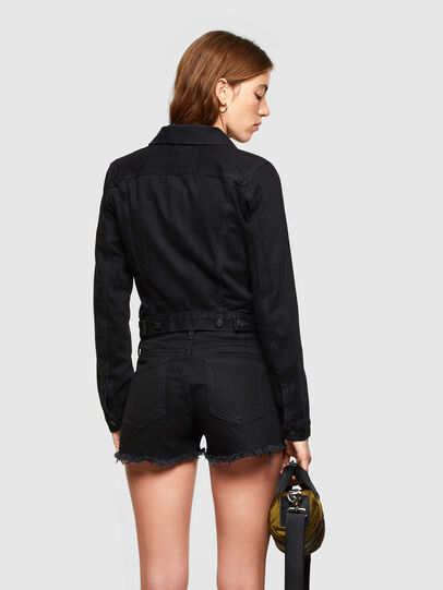Diesel - DE-LIMMY, Black - Denim Jackets - Image 2