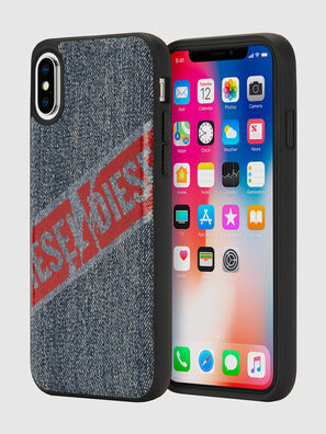 VINTAGE DENIM IPHONE X CASE, Blue Jeans - Cases