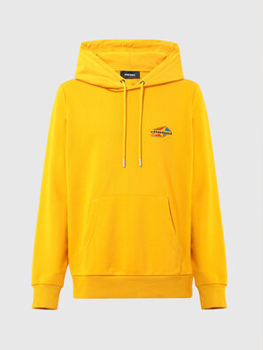 S-GIRK-HOOD-K22, Yellow - Sweaters