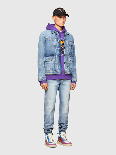 Diesel - CL-D-BIL, Light Blue - Denim Jackets - Image 6