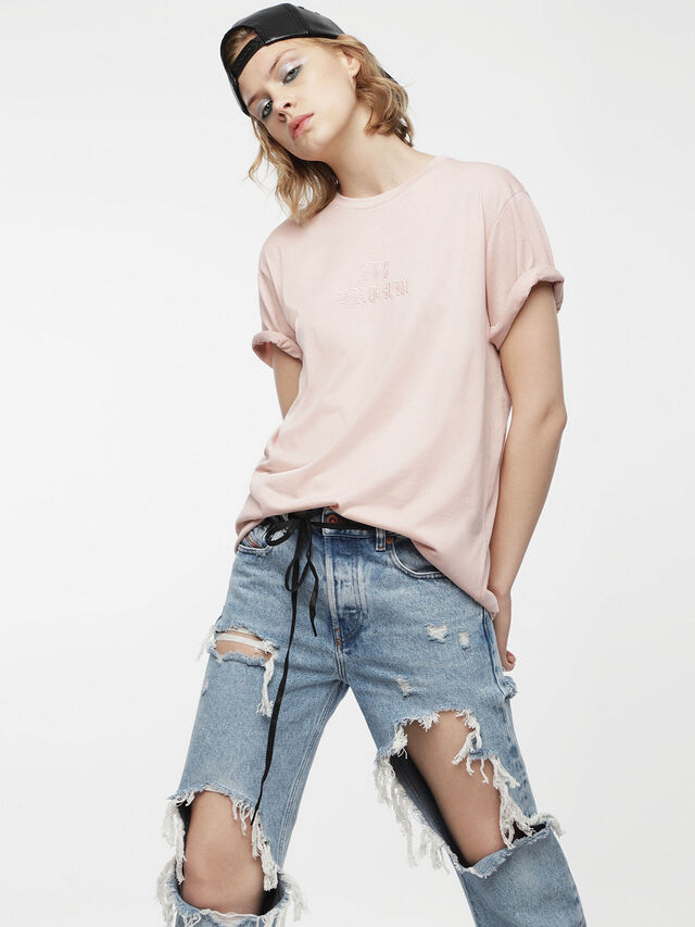Diesel - T-DARIA, Face Powder - T-Shirts - Image 1