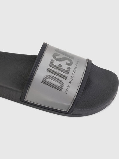 Diesel - SA-VALLA, Grey - Slippers - Image 4