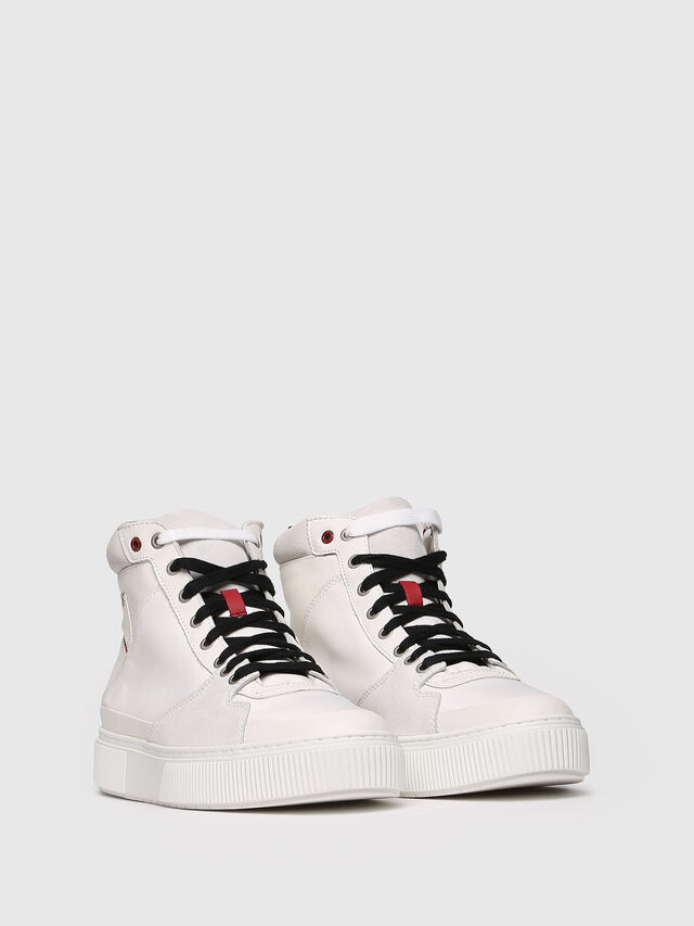 Diesel - S-DANNY MC, White - Sneakers - Image 3