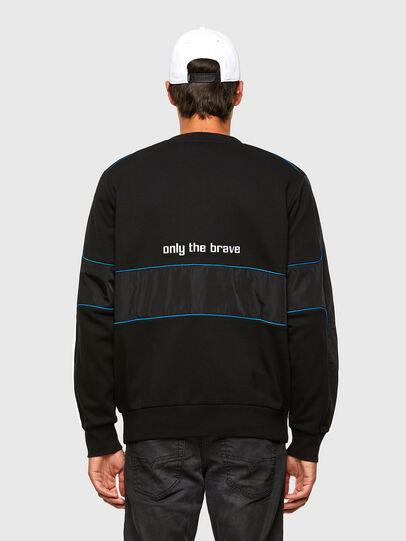 Diesel - S-LAIN, Black - Sweaters - Image 2