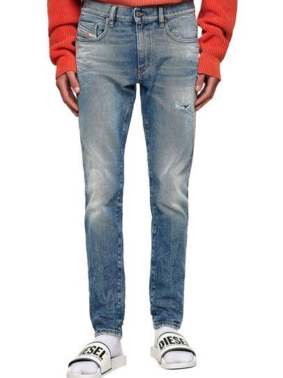 Diesel - D-Strukt 009MW, Medium blue - Jeans - Image 1