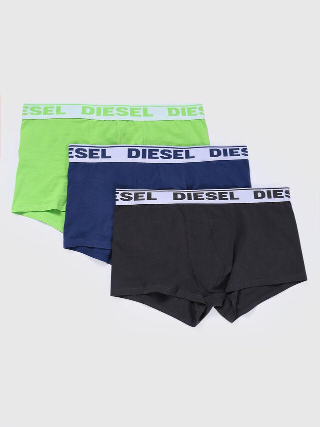 Diesel UMBX-SHAWNTHREE-PACK, Black/Green - Trunks - Image 1