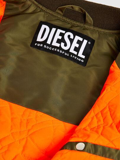 Diesel - J-UPPER, Olive Green - Jackets - Image 6