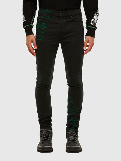 Diesel - D-Reeft JoggJeans 009HD, Black/Dark grey - Jeans - Image 1