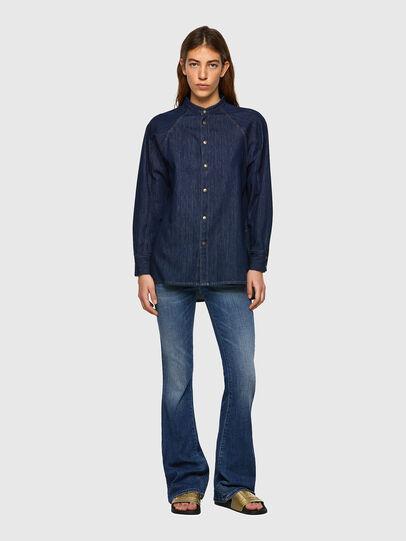Diesel - DE-NOVA-SP, Blue - Denim Shirts - Image 4