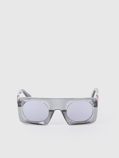 Diesel - DL0292, Gray/Black - Sunglasses - Image 1