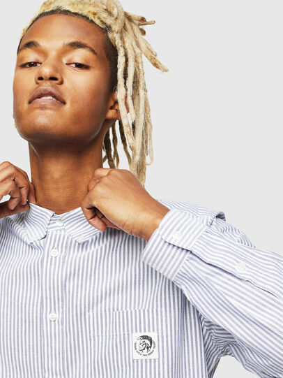 Diesel - S-JAMES-A, White - Shirts - Image 4